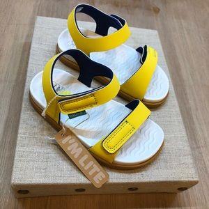 Native Girls Toddler Yellow Sandals